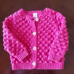 Like New Tucker and Tate Bobble Knit Cardigan